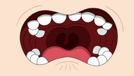 Jeff's mouth