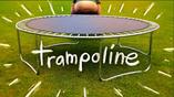 Trampoline card
