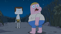 Jeff shirtless