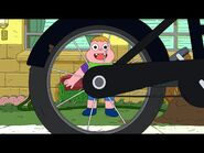 Cool bike spokes wheel