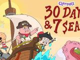 Thirty Days & Seven Seas