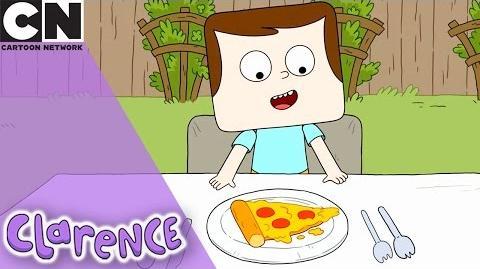 Clarence Pizza Hero Cartoon Network