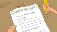 The Behavior Worksheet