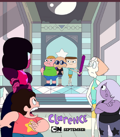 Clarence's Universe Poster