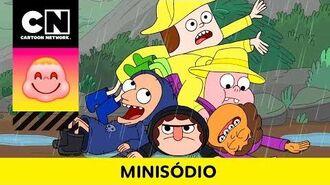 DIA DE CHUVA Clarêncio, o Otimista Minisódio Cartoon Network