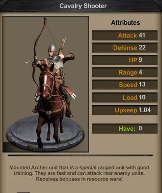 Cavalry Shooter