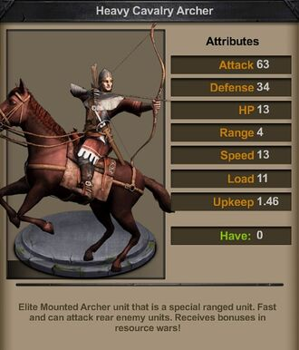 Heavy Cavalry Archer