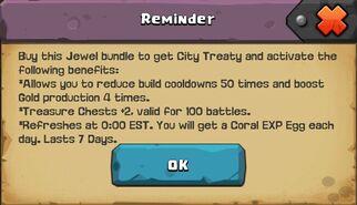 City treaty 1