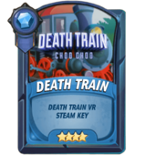 Death train loot card