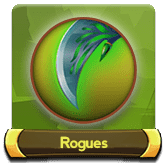 Rogues button