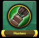 Hunters button