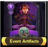 Eventartifacts button