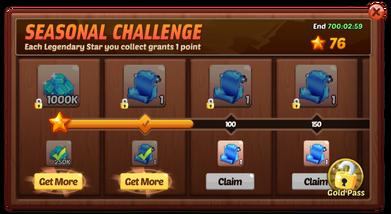 Seasonal challenge