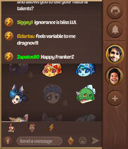 Chat emotes