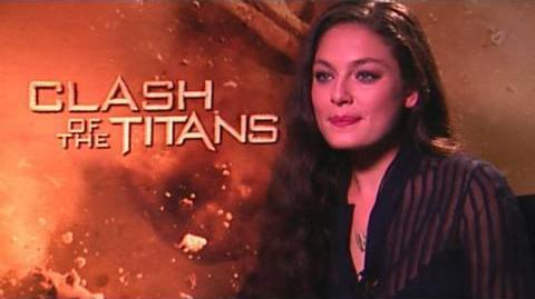 'Clash of the Titans' Alexa Davalos Interview