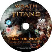 Wrath of the Titans (DVD) disc