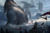 Mountain giants by kangjason-d7nh7xf