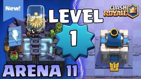 NIVEL 1 EN LA NUEVA ARENA ELECTROVALLE (3400 COPAS!) Clash Royale