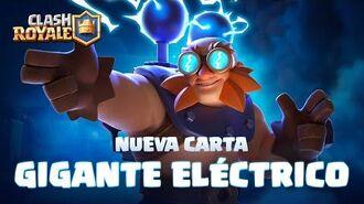 Clash Royale NUEVA CARTA ⚡ GIGANTE ELÉCTRICO