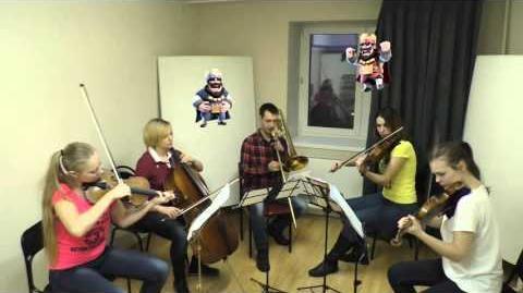 Clash Royale Battle Music - Aurum Quartet