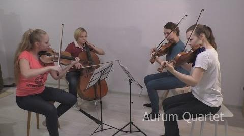 Clash of Clans Battle Theme - Aurum Quartet