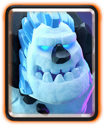 Cards Ice Golem