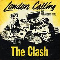 London Calling Single 7'' UK
