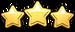 Achievement 3 stars