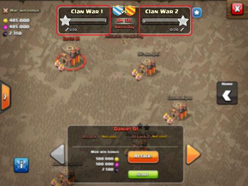 Clankriegs-Teilnehmer-FaQ