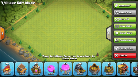 Village Edit Mode | Clash of Clans Wiki | FANDOM powered by Wikia