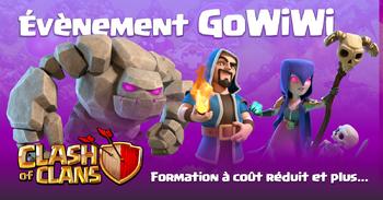 ÉVÉNEMENT GoWiWi