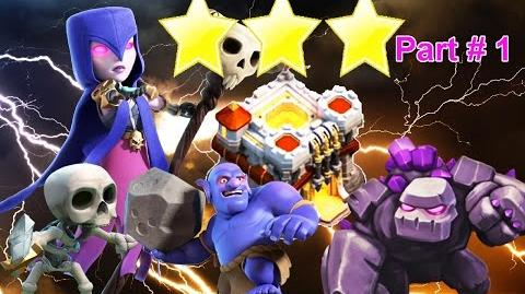 Clash of Clans TH11 vs TH11 Bowler Witch attack strategy 3 star 2017