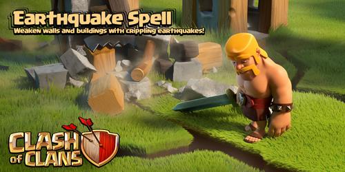 Sneak Peek Earthquake Spell