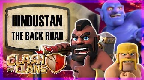 CWL Premiere Hindustan vs The Back Road Clash of Clans