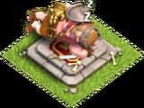Roi des barbares (autel)