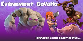 ÉVÉNEMENT GOVAHO