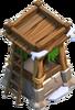 Bogenschützenturm 5 Winter