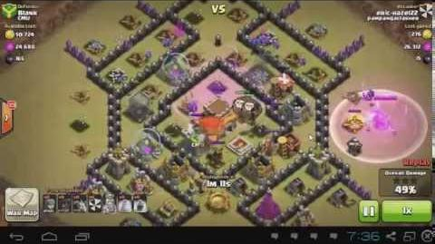 Clash of Clans - Balloons & Minions - Town Hall 8 - Clan War