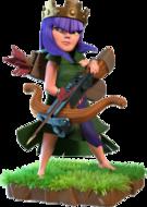 Bogenschützen-Königin