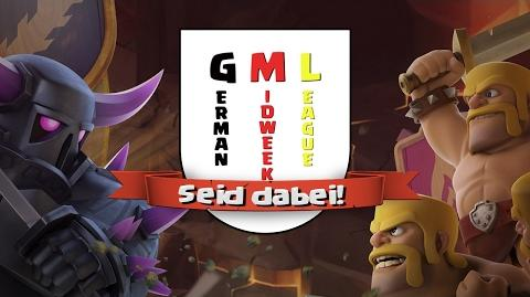 Clash of Clans GermanMidWeekLeague Trailer! Reazor Deutsch German HD