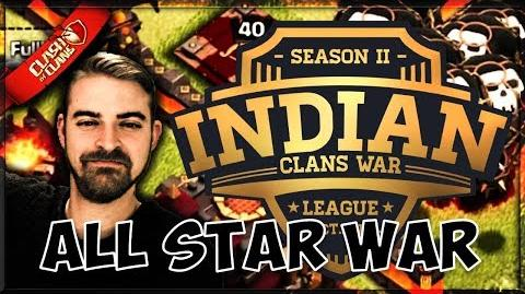 🎥 DRAW ON PERCENT!? ICWL S2 All Star War with INSANE Clash Action Clash of Clans ⚔