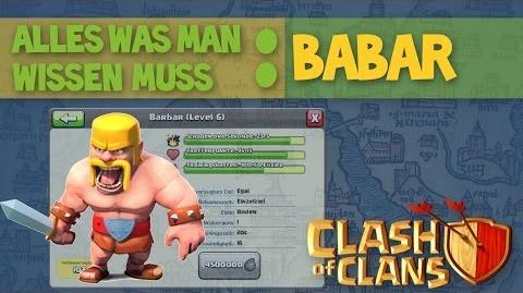 Clash of Clans ABC I Truppen Barbar