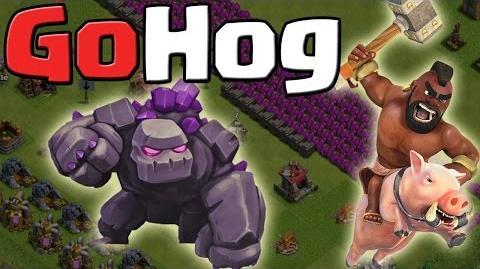 GoHog - 3 Sterne Angriffsstrategie