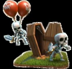 Skelettfalle