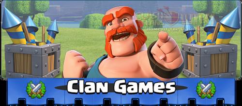 Clanspiele Banner