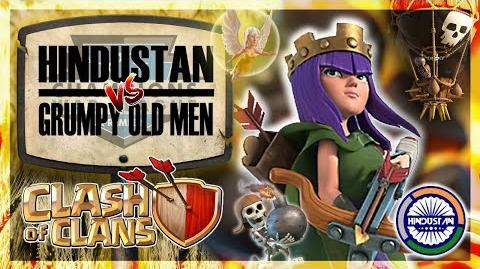 Hindustan vs Grumpy Old Men CWL Premiere (Week 10) Clash of Clans