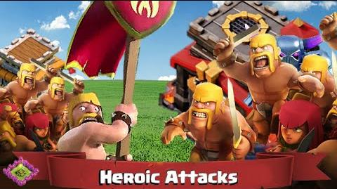 """Most Heroic Attacks Clash of Clans """"Town Hall 8"""" Two Starring """"Town Hall 10"""""""