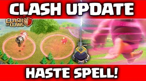 Clash of Clans UPDATE! ♦ Sneak Peeks! ♦ Dark Elixir Spell - HASTE ♦ Speed The Destruction! ♦ CoC-0