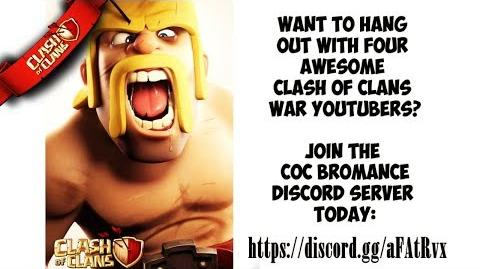 🎥 Join the CoC Bromance Server WAR COMMUNITY YOUTUBERS Clash of Clans ⚔