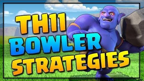 Clash of Clans TH11 Bowler Attack Strategies! CoC TH11 vs TH11 War Attacks!